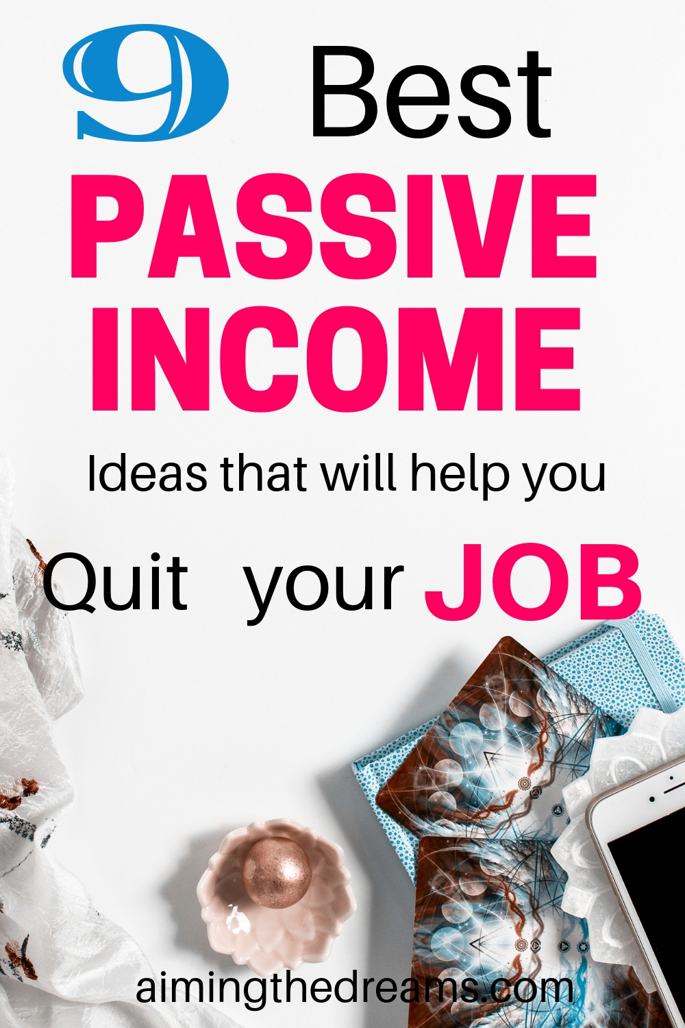 9 passive income ideas that will help you quit your job.
