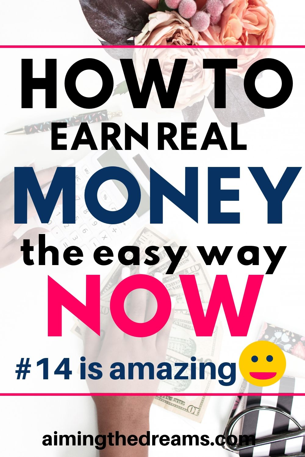 How to earn real income the easy way now. These side hustles and side income ideas let you work from home and earn make money