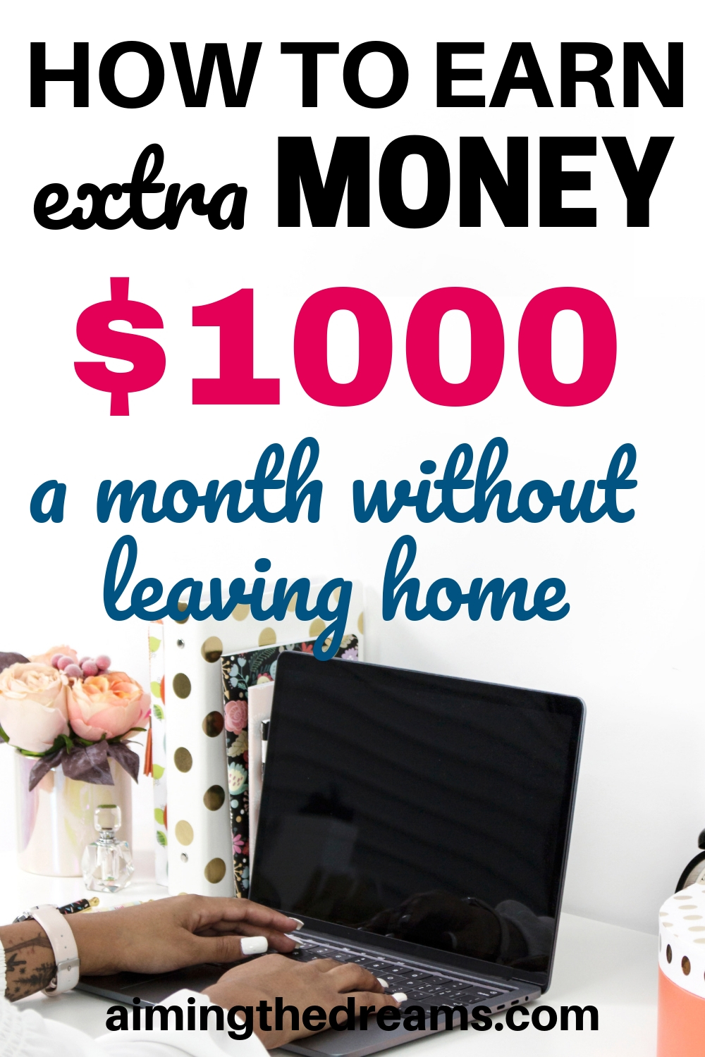 How to earn extra money $1000 a month without leaving home.