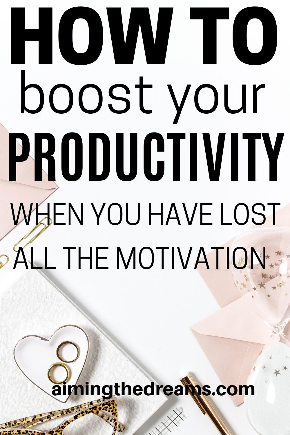 How to stay productive when you are not motivated to do anything