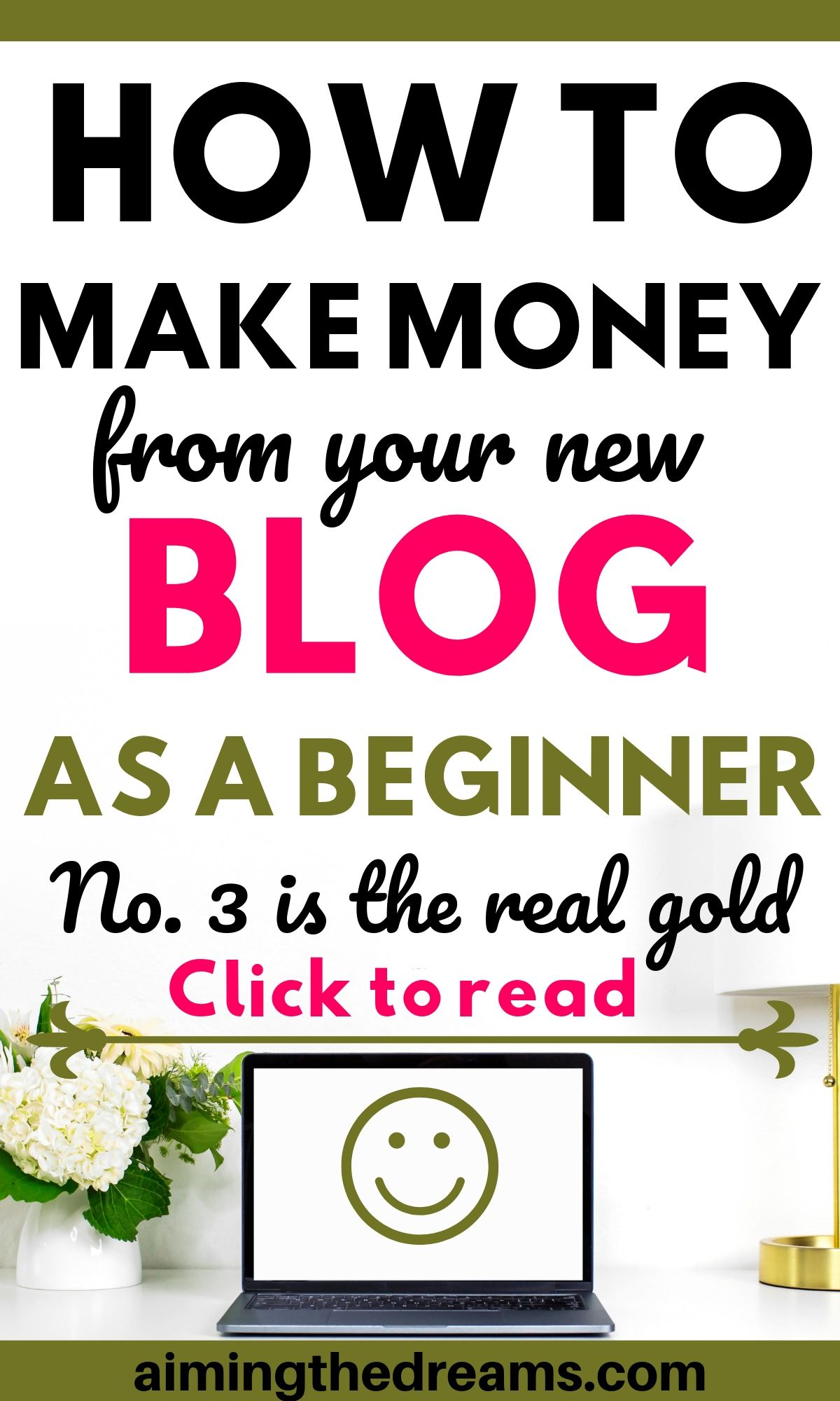 How to make money blogging as a beginner from your new blog.