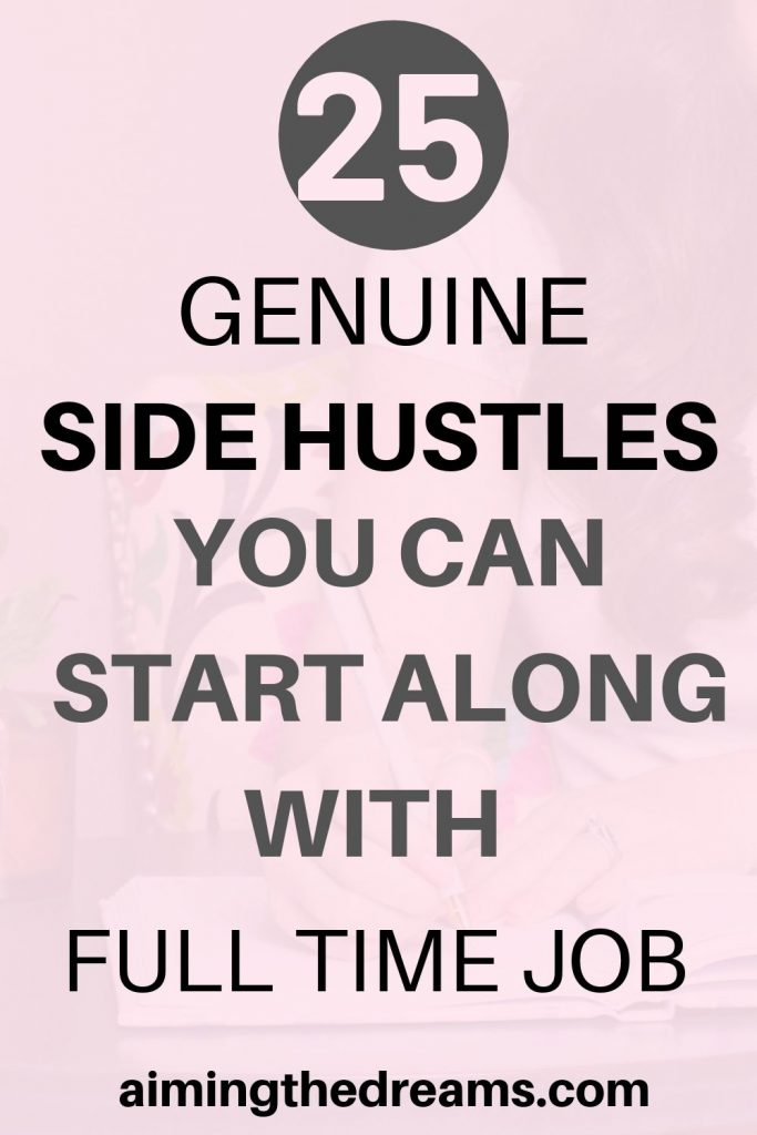 How to start a side hustle along with full time job