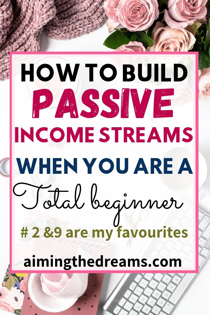 How to build passive income as a beginner. Passive income ideas let you have peace of mind.