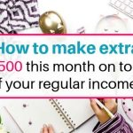 How to make extra $500 this month ( make extra money)