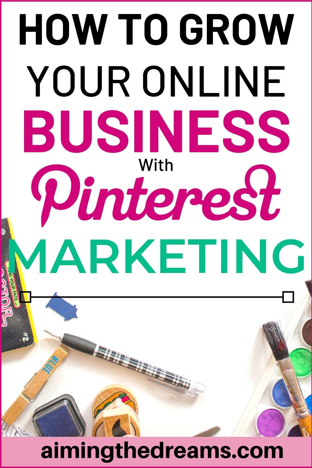 How to grow online business with Pinterest marketing strategies. Pinterest can be huge for the businesses.