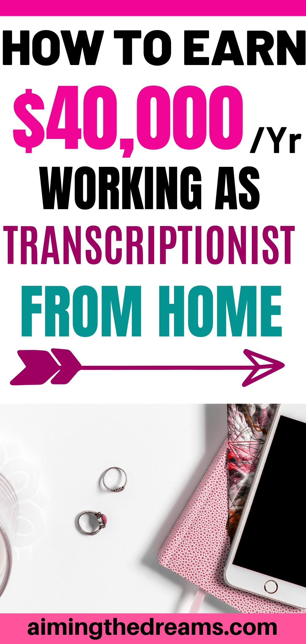 How to become a transccriptionist and earn $40,000 a year