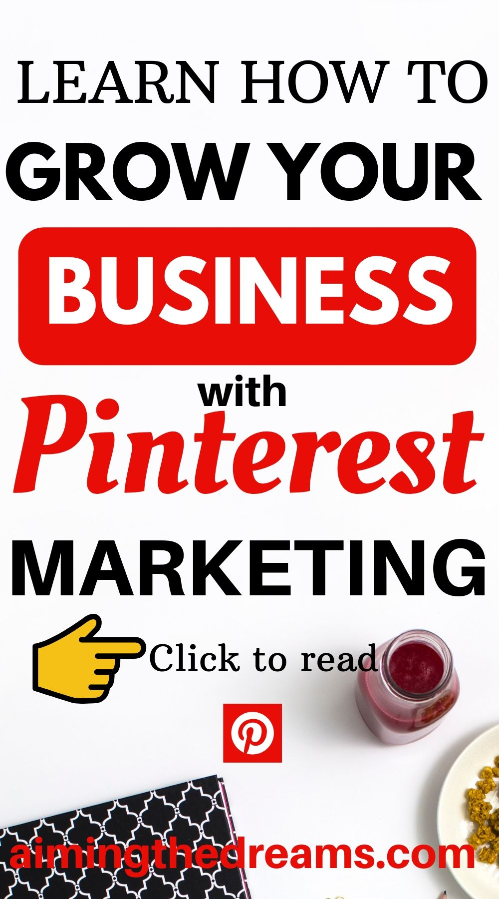 How to grow online business with Pinterest marketing