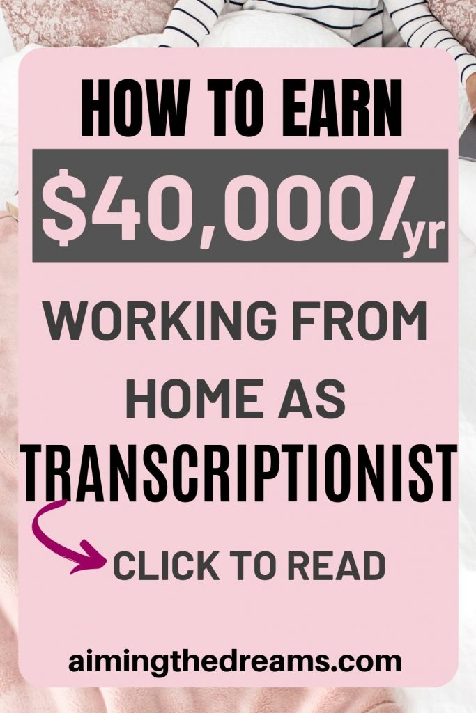 How to earn money a transcriptionist