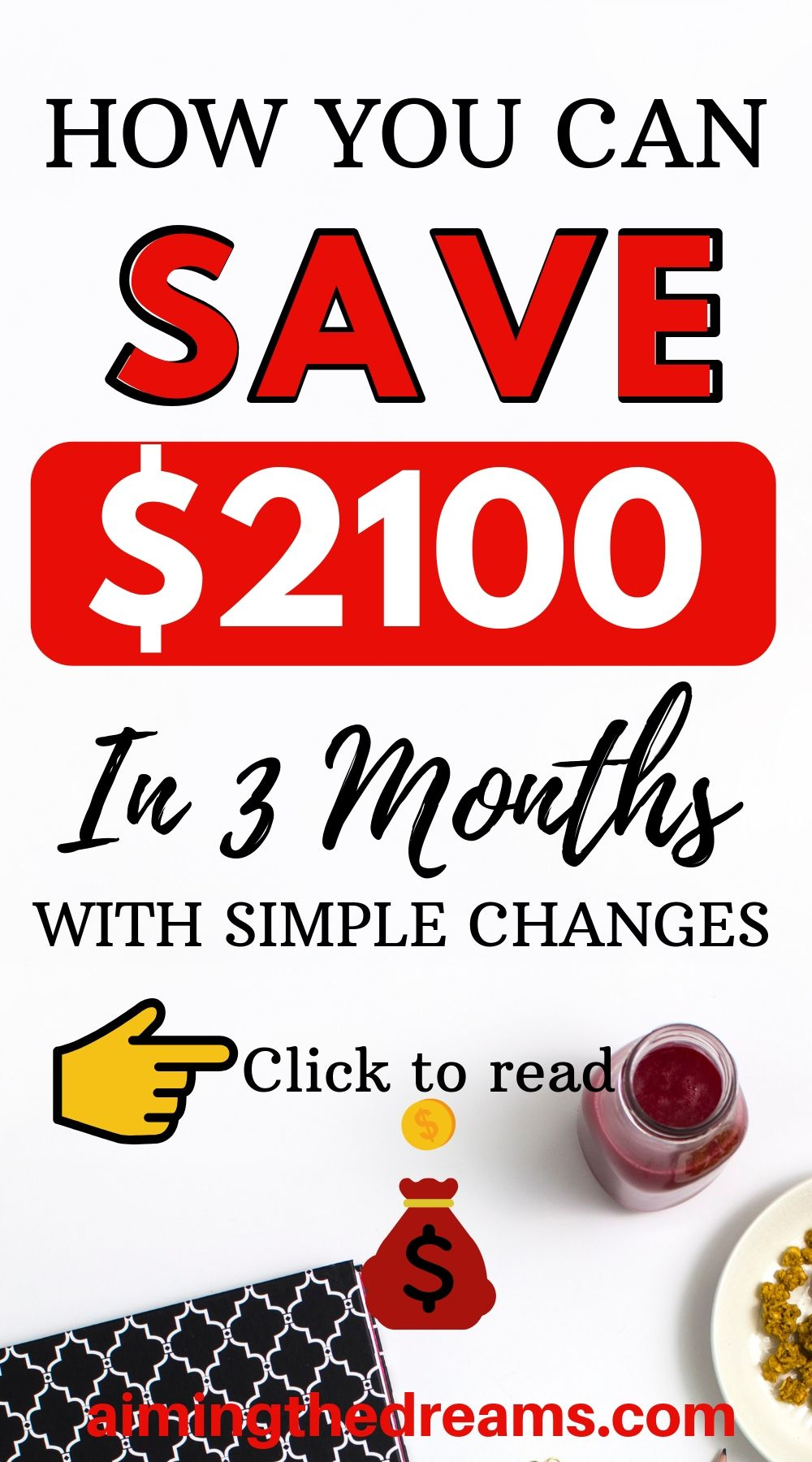 How you can save extra $2100 to grow wealth in 3 months time