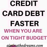 12 tips to pay off your credit card debt faster