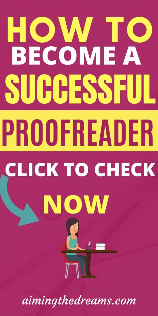 How to become a proofreader and start working from home