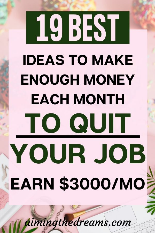 19 beat job ideas to make money from home and quit your job