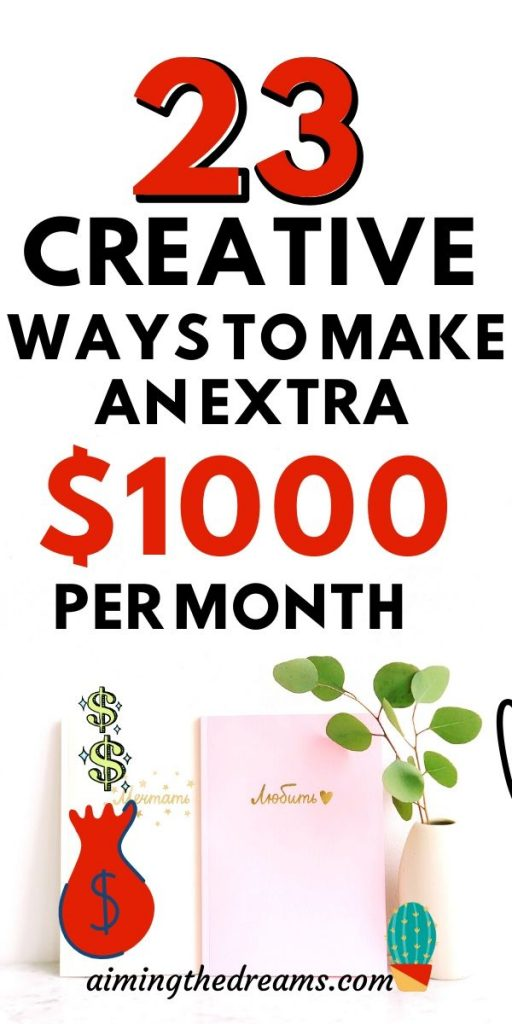 23 creative ways to make money working from home