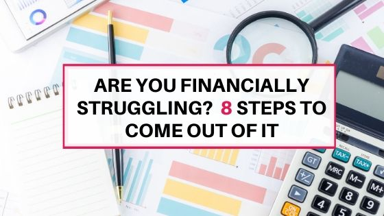 Are you financially struggling?