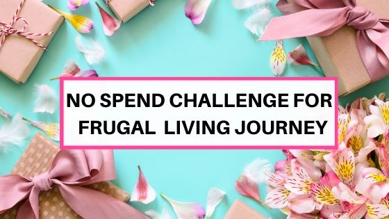 How to start a no spend challenge to build savings