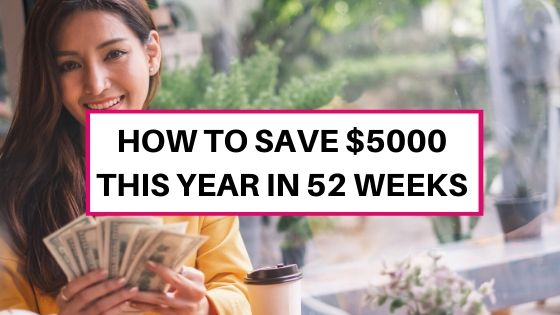 How to save $5000 this year with this money-saving challenge