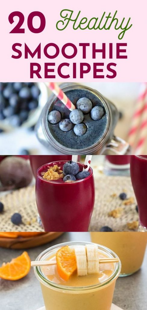 Healthy Smoothies recipes for a robust health.