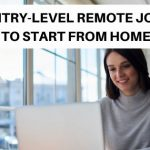 Entry-level remote jobs to start working from home