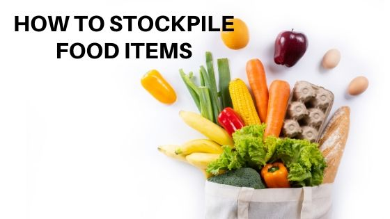How to stockpile food