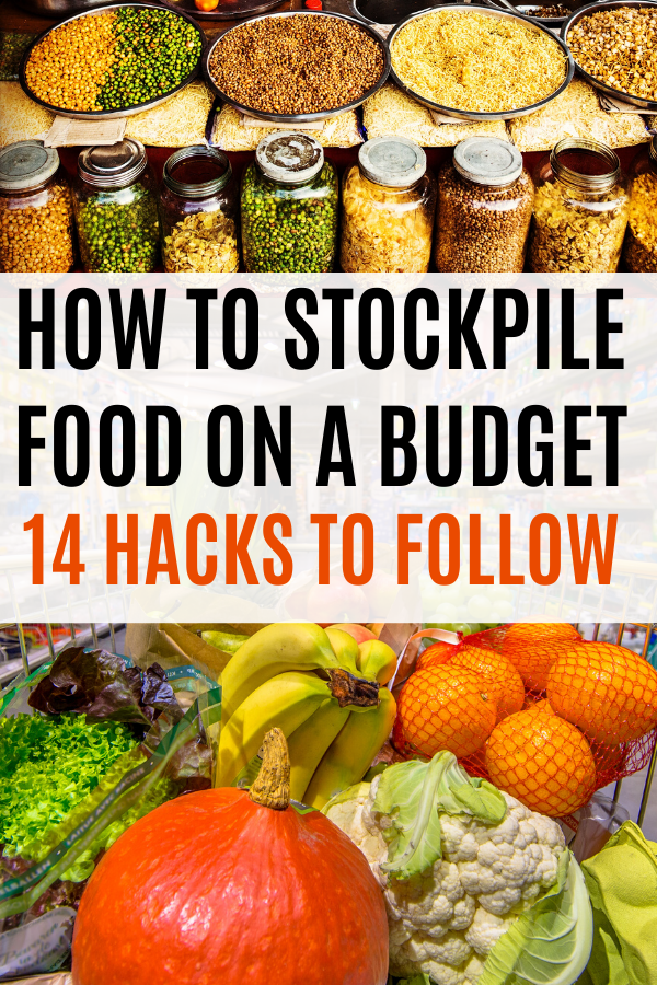 How to stockpile food on a budget