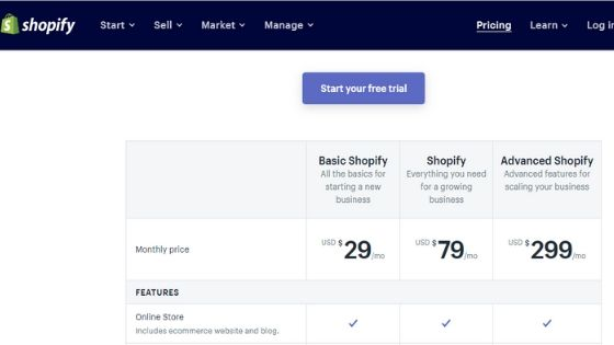 Shopify is one of the best eCommerce platforms for startups